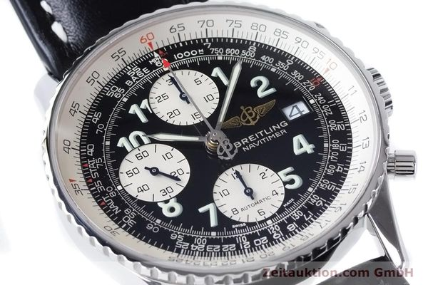 Used luxury watch Breitling Navitimer chronograph steel automatic Kal. B13 ETA 7750 Ref. A13322  | 160957 02