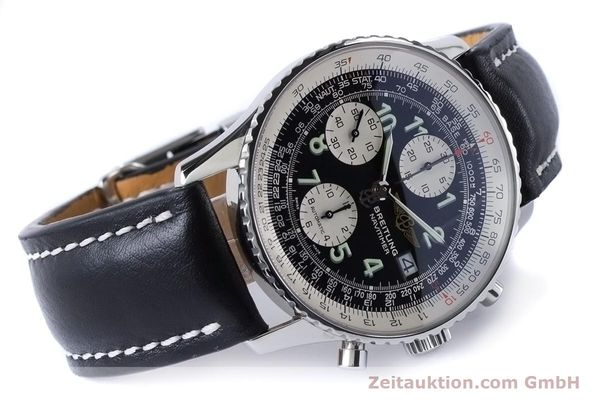 Used luxury watch Breitling Navitimer chronograph steel automatic Kal. B13 ETA 7750 Ref. A13322  | 160957 03