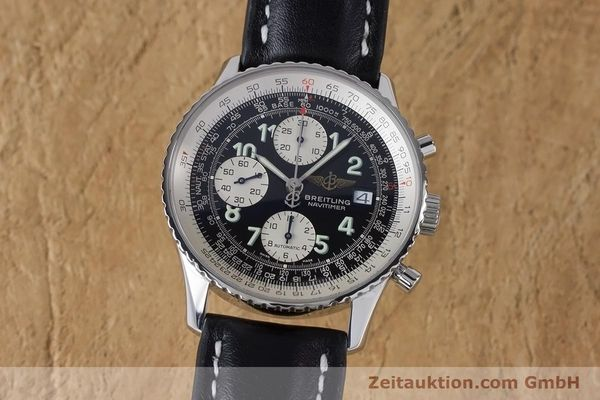 Used luxury watch Breitling Navitimer chronograph steel automatic Kal. B13 ETA 7750 Ref. A13322  | 160957 04