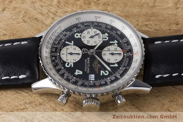 Used luxury watch Breitling Navitimer chronograph steel automatic Kal. B13 ETA 7750 Ref. A13322  | 160957 05