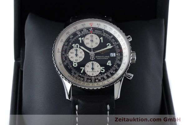 Used luxury watch Breitling Navitimer chronograph steel automatic Kal. B13 ETA 7750 Ref. A13322  | 160957 07