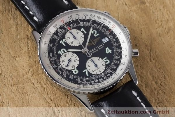 Used luxury watch Breitling Navitimer chronograph steel automatic Kal. B13 ETA 7750 Ref. A13322  | 160957 13