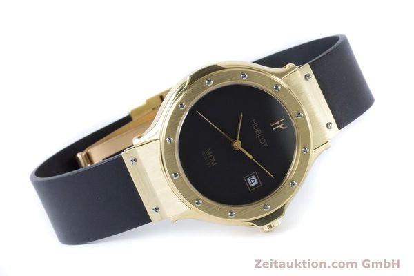 Used luxury watch Hublot MDM 18 ct gold quartz Kal. ETA 956112 Ref. 1391.3  | 160958 03