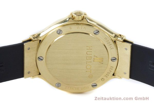 Used luxury watch Hublot MDM 18 ct gold quartz Kal. ETA 956112 Ref. 1391.3  | 160958 09