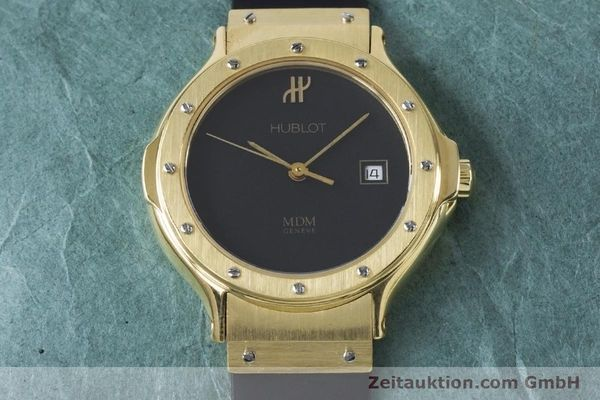 Used luxury watch Hublot MDM 18 ct gold quartz Kal. ETA 956112 Ref. 1391.3  | 160958 13