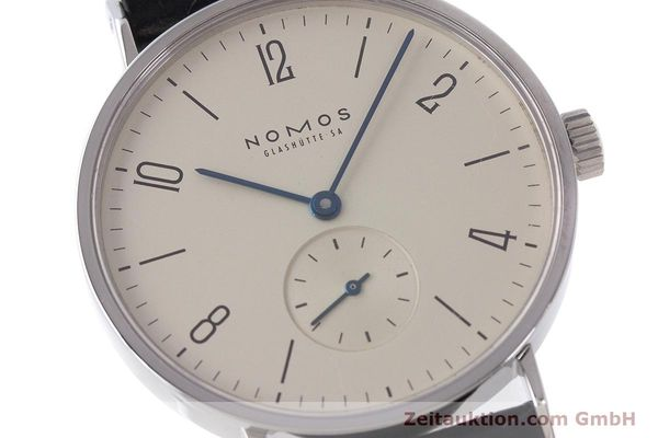 Used luxury watch Nomos Tangente steel manual winding Kal. 7001  | 160959 02