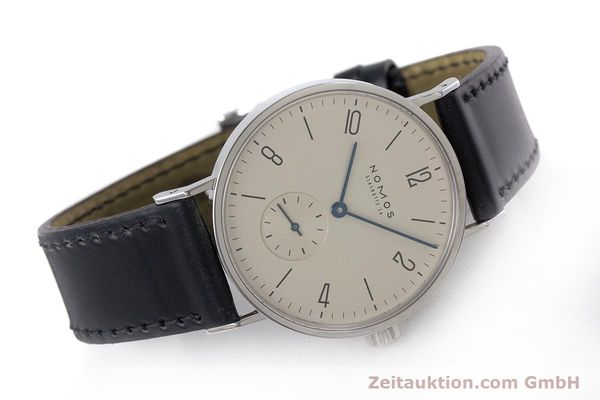 Used luxury watch Nomos Tangente steel manual winding Kal. 7001  | 160959 03