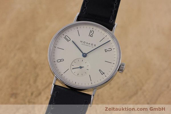 NOMOS TANGENTE STEEL MANUAL WINDING KAL. 7001 LP: 1380EUR [160959]