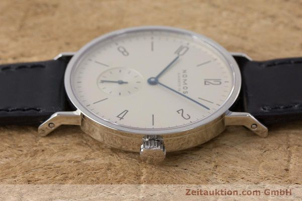 Used luxury watch Nomos Tangente steel manual winding Kal. 7001  | 160959 05