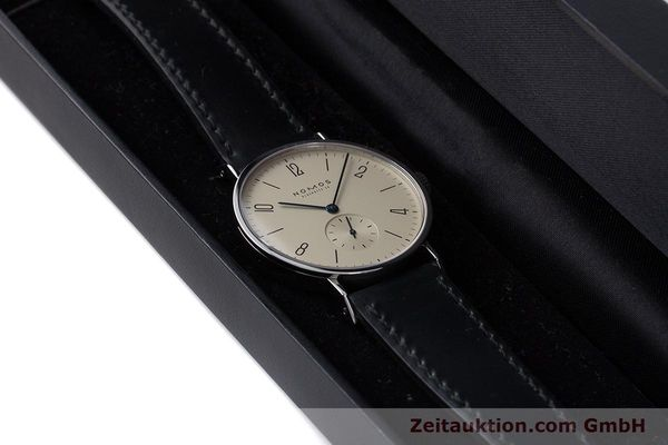 Used luxury watch Nomos Tangente steel manual winding Kal. 7001  | 160959 07