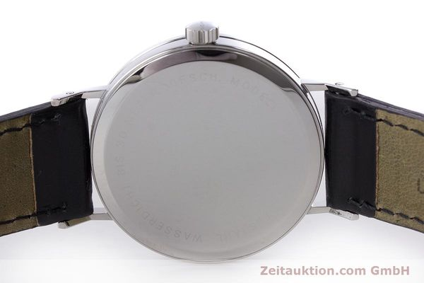 Used luxury watch Nomos Tangente steel manual winding Kal. 7001  | 160959 09
