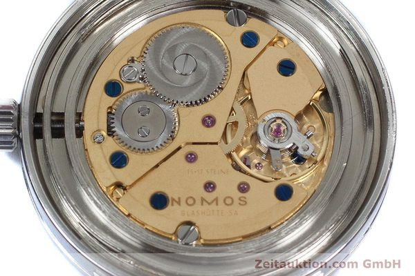 Used luxury watch Nomos Tangente steel manual winding Kal. 7001  | 160959 10