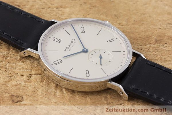 Used luxury watch Nomos Tangente steel manual winding Kal. 7001  | 160959 13