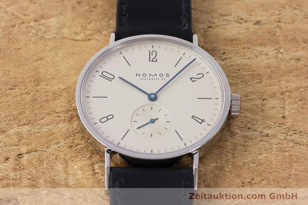 Used luxury watch Nomos Tangente steel manual winding Kal. 7001  | 160959 14