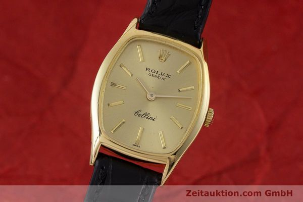 ROLEX CELLINI 18 CT GOLD MANUAL WINDING KAL. 1600 LP: 4300EUR [160963]