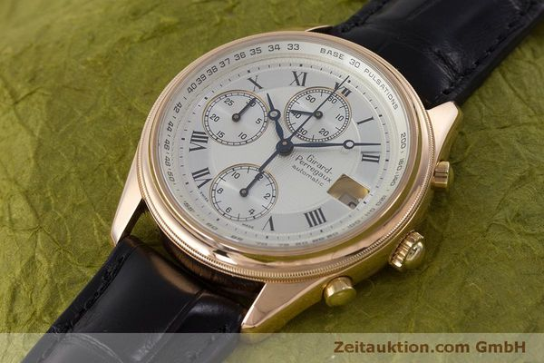 Used luxury watch Girard Perregaux GP 4900 chronograph 18 ct gold automatic Kal. 800-914 Ref. 4900  | 160964 01