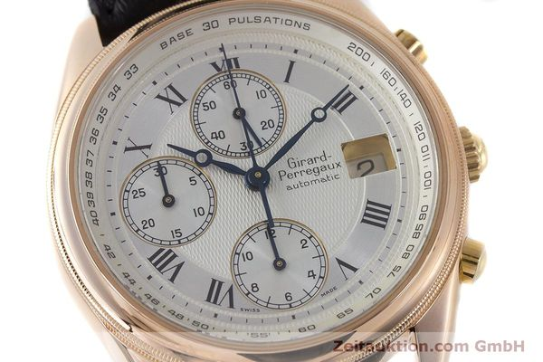 Used luxury watch Girard Perregaux GP 4900 chronograph 18 ct gold automatic Kal. 800-914 Ref. 4900  | 160964 02