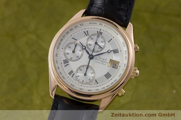 Used luxury watch Girard Perregaux GP 4900 chronograph 18 ct gold automatic Kal. 800-914 Ref. 4900  | 160964 05