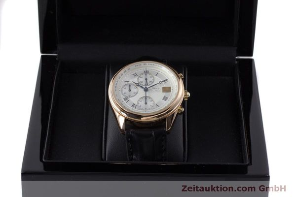 Used luxury watch Girard Perregaux GP 4900 chronograph 18 ct gold automatic Kal. 800-914 Ref. 4900  | 160964 07
