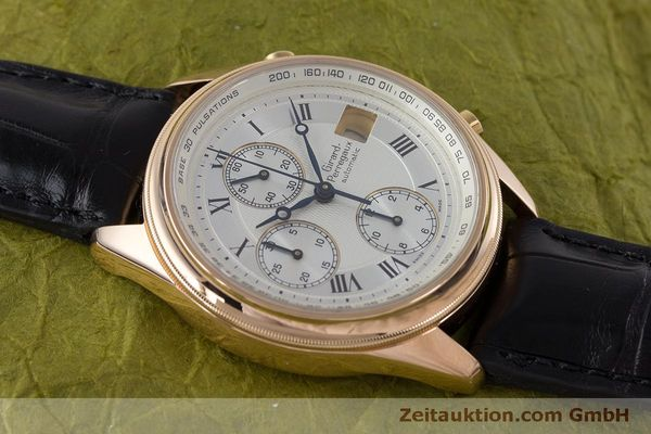 Used luxury watch Girard Perregaux GP 4900 chronograph 18 ct gold automatic Kal. 800-914 Ref. 4900  | 160964 15