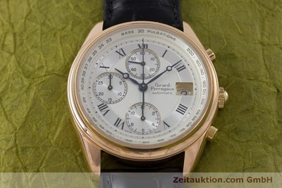 GIRARD PERREGAUX GP 4900 CHRONOGRAPHE OR 18 CT AUTOMATIQUE KAL. 800-914 LP: 27500EUR [160964]