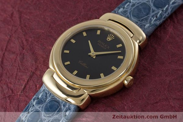 Used luxury watch Rolex Cellini 18 ct gold quartz Kal. 6620 Ref. 6621  | 160965 01
