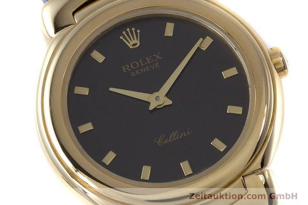 Used luxury watch Rolex Cellini 18 ct gold quartz Kal. 6620 Ref. 6621  | 160965 02