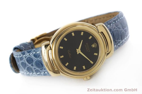 Used luxury watch Rolex Cellini 18 ct gold quartz Kal. 6620 Ref. 6621  | 160965 03