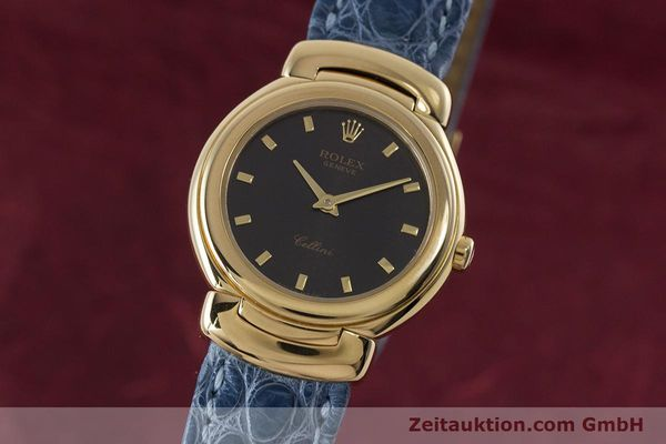 ROLEX CELLINI 18 CT GOLD QUARTZ KAL. 6620 LP: 8200EUR [160965]