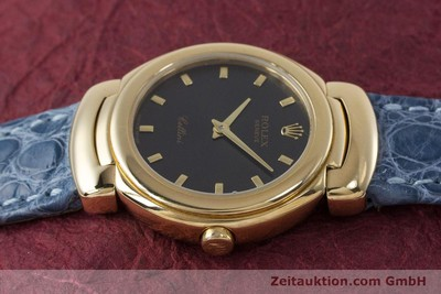 ROLEX LADY CELLINI CESTELLO 18K (0,750) GOLD DAMENUHR 6621 VP: 8200,- EURO [160965]