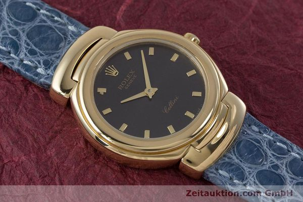 Used luxury watch Rolex Cellini 18 ct gold quartz Kal. 6620 Ref. 6621  | 160965 15