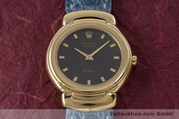 Used luxury watch Rolex Cellini 18 ct gold quartz Kal. 6620 Ref. 6621  | 160965 16