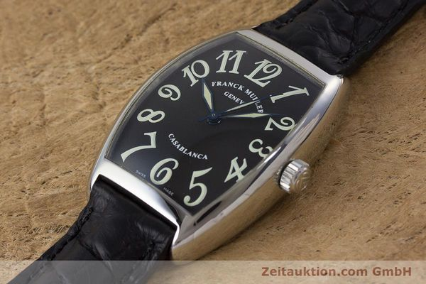 Used luxury watch Franck Muller Casablanca steel automatic Kal. 2800  | 160966 01