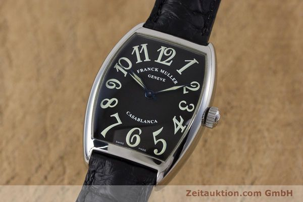 Used luxury watch Franck Muller Casablanca steel automatic Kal. 2800  | 160966 04
