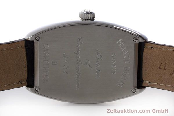 Used luxury watch Franck Muller Casablanca steel automatic Kal. 2800  | 160966 09