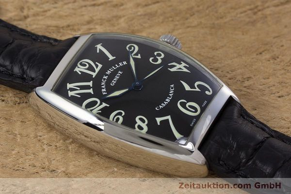 Used luxury watch Franck Muller Casablanca steel automatic Kal. 2800  | 160966 12