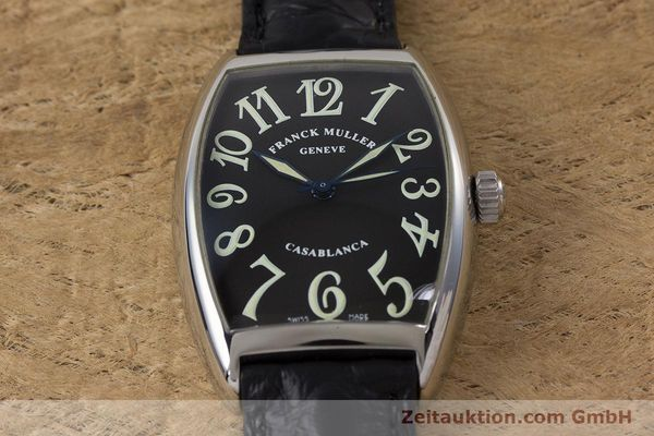 Used luxury watch Franck Muller Casablanca steel automatic Kal. 2800  | 160966 13