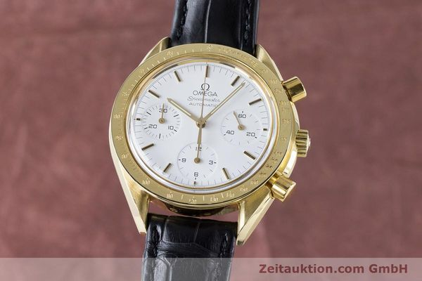 OMEGA SPEEDMASTER CHRONOGRAPHE OR 18 CT AUTOMATIQUE KAL. 1140 LP: 14200EUR [160968]