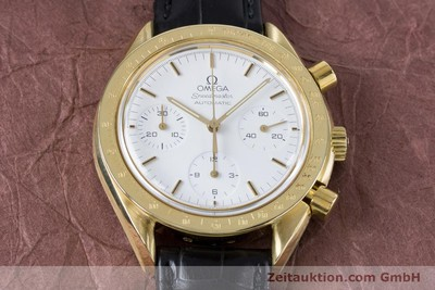 OMEGA SPEEDMASTER CHRONOGRAPH 18 CT GOLD AUTOMATIC KAL. 1140 LP: 14200EUR [160968]