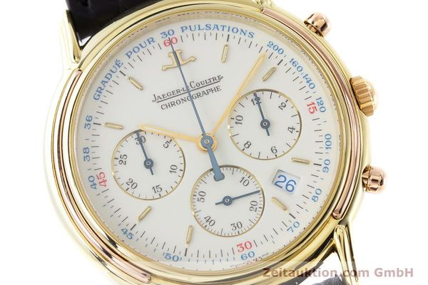 Used luxury watch Jaeger Le Coultre Odysseus chronograph 18 ct gold quartz Kal. 630 Ref. 165.7.30  | 160969 02