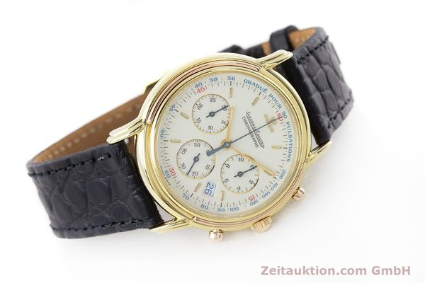 Used luxury watch Jaeger Le Coultre Odysseus chronograph 18 ct gold quartz Kal. 630 Ref. 165.7.30  | 160969 03