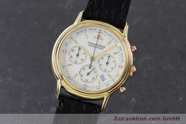 JAEGER LE COULTRE ODYSSEUS CHRONOGRAPH 18 CT GOLD QUARTZ KAL. 630 [160969]