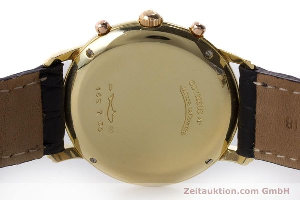 Used luxury watch Jaeger Le Coultre Odysseus chronograph 18 ct gold quartz Kal. 630 Ref. 165.7.30  | 160969 09