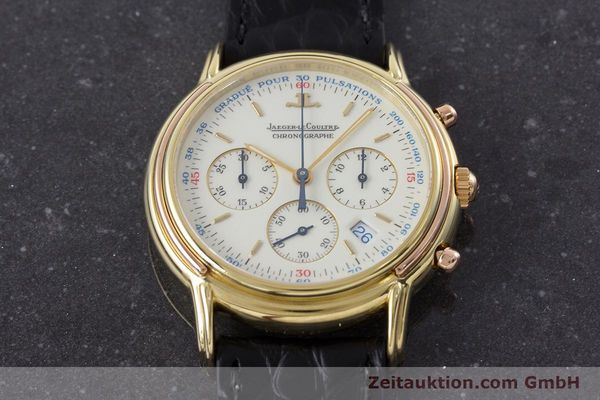 Used luxury watch Jaeger Le Coultre Odysseus chronograph 18 ct gold quartz Kal. 630 Ref. 165.7.30  | 160969 15