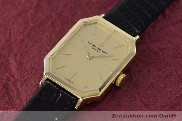 Used luxury watch Vacheron & Constantin * 18 ct gold manual winding Kal. 1052 Ref. 15030  | 160970 01