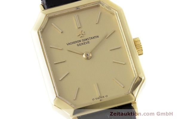 Used luxury watch Vacheron & Constantin * 18 ct gold manual winding Kal. 1052 Ref. 15030  | 160970 02