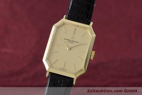 Used luxury watch Vacheron & Constantin * 18 ct gold manual winding Kal. 1052 Ref. 15030  | 160970 04