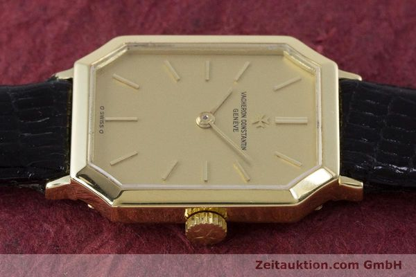 Used luxury watch Vacheron & Constantin * 18 ct gold manual winding Kal. 1052 Ref. 15030  | 160970 05