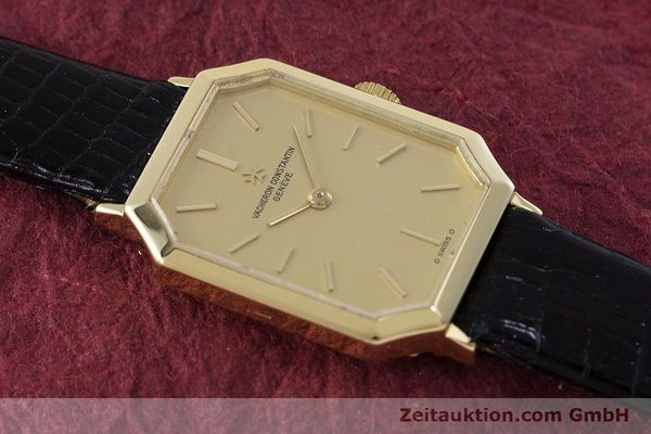 Used luxury watch Vacheron & Constantin * 18 ct gold manual winding Kal. 1052 Ref. 15030  | 160970 13