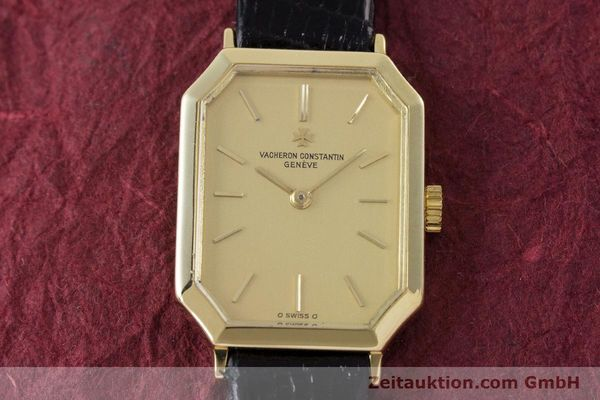 Used luxury watch Vacheron & Constantin * 18 ct gold manual winding Kal. 1052 Ref. 15030  | 160970 14